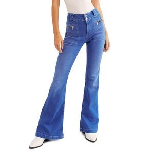 NWT Free People Layla High-Rise Flare Jean 26